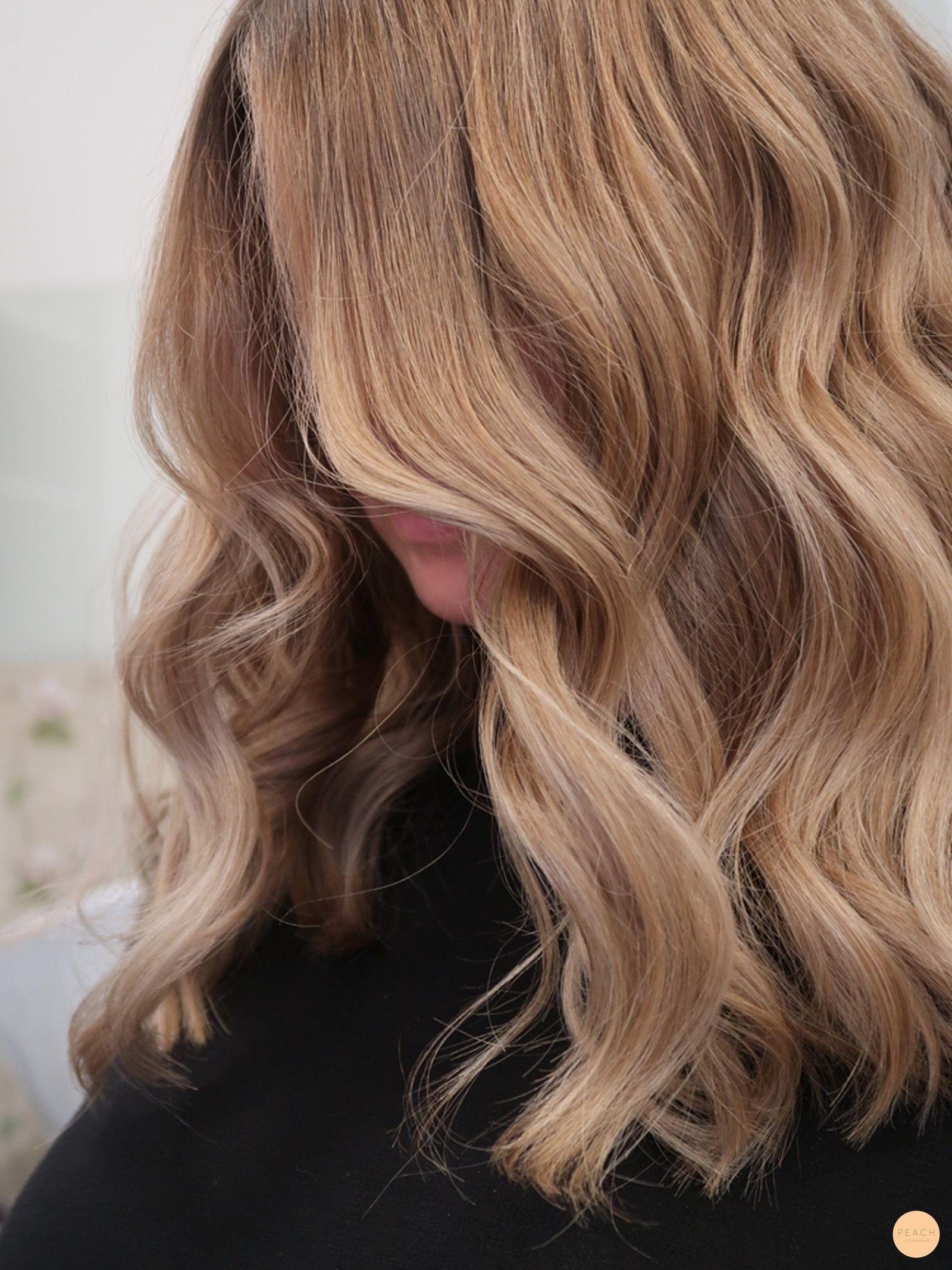 olika blonda hårfärger