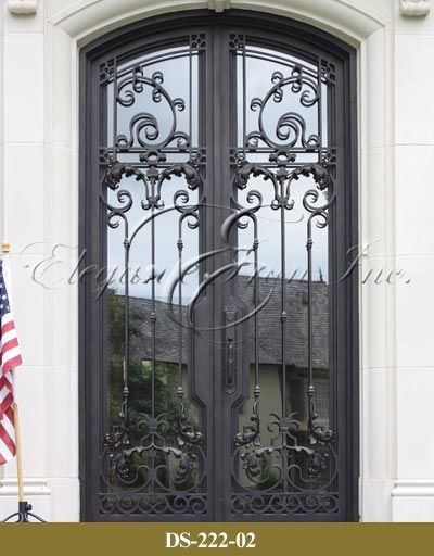 View Wrought Iron Entry Doors Wine Doors Railings Elegante Iron