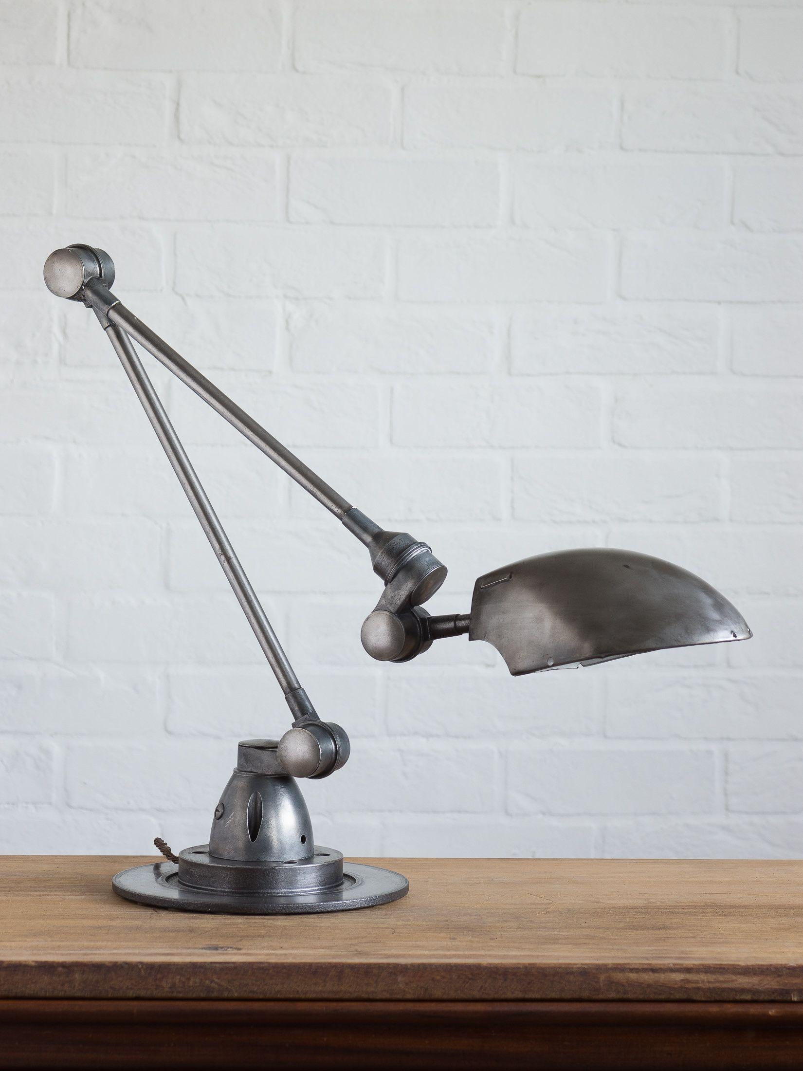 Rare Vintage Industrial Desk Lamp Similar to Jielde Designs | Artifact Interiors | Artifact Lighting