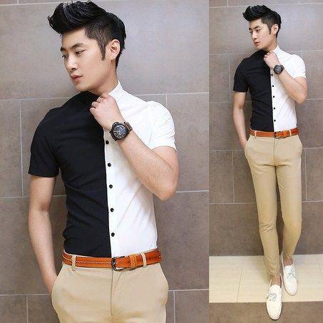 Black & White Shirt Design