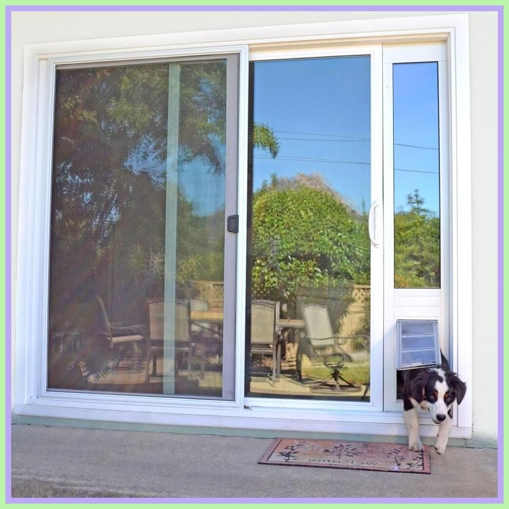108 Reference Of Dog Door Sliding Patio Door In 2020 Door Glass Design Sliding Glass Doors Patio Sliding Screen Doors