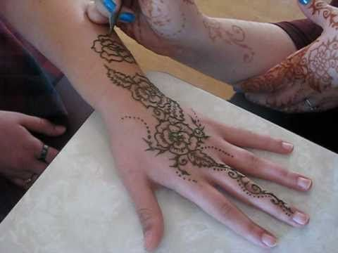 Mehndi Designs Rose : Beautiful rose hands henna mehndi fashion pinterest hand