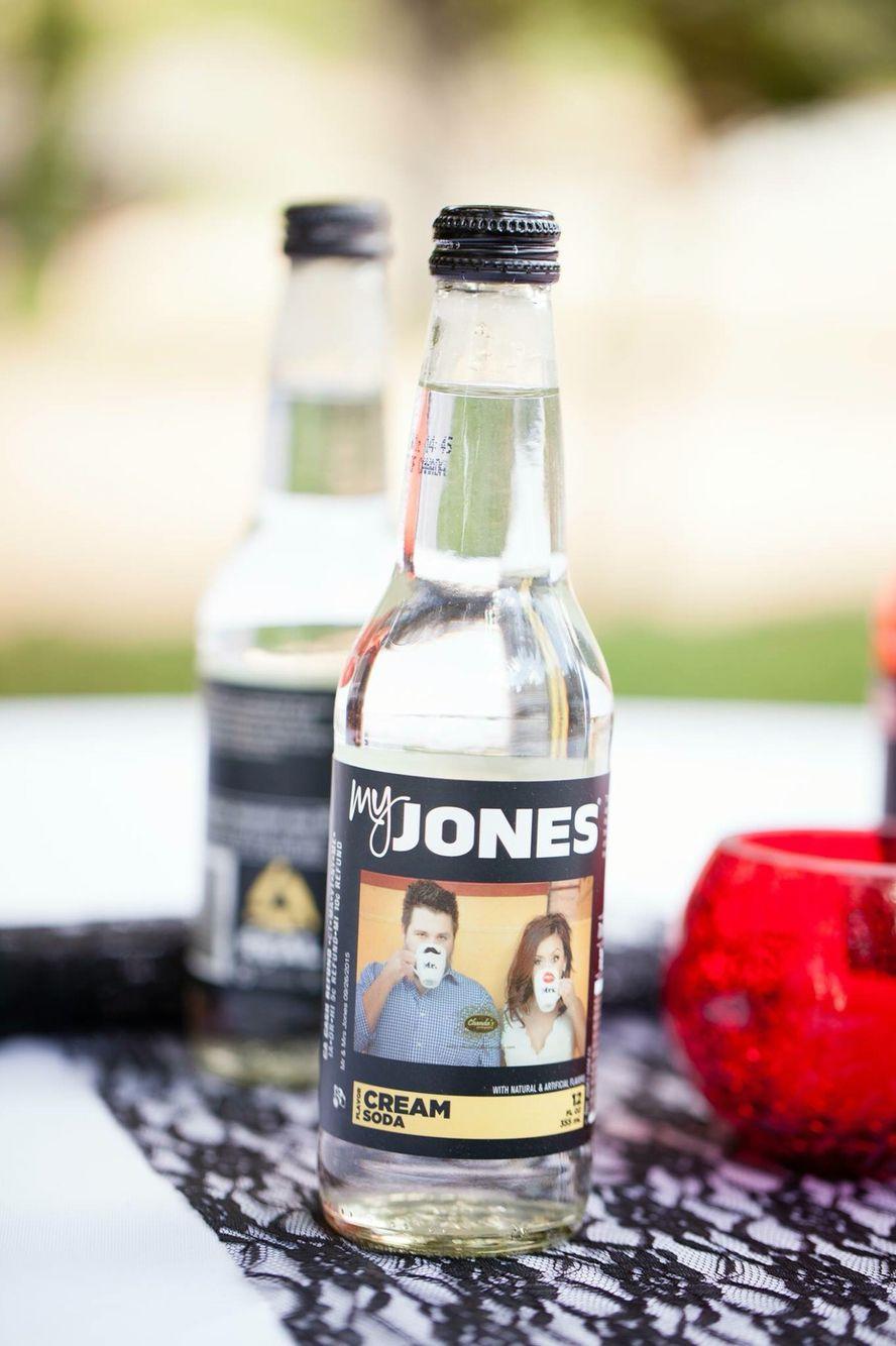 Customized Jones Soda wedding bottle labels #jonessoda   Wedding ...