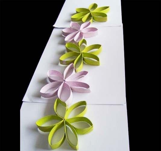 Fabriquer des fleurs pour vos centres de tables centres de table centre et - Papier toilette mariage ...