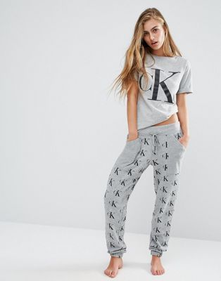 6387783aa Calvin Klein Retro Pyjama Trouser in 2019 | Lounge wear / Intimates ...