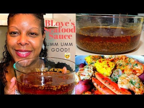 Making BLove's smackalicious seafood sauce!