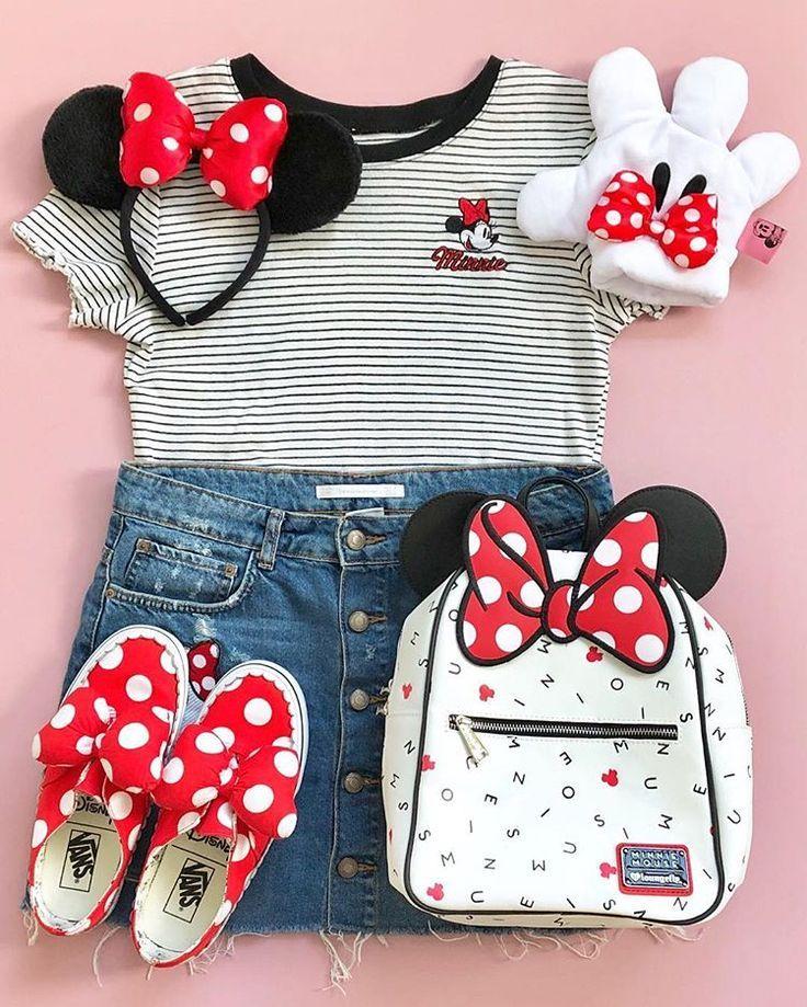 Photo of Klassischer Minnie #ootd   Disney Zubehör Disney Outfit Ideen Disney Style   ….. …..