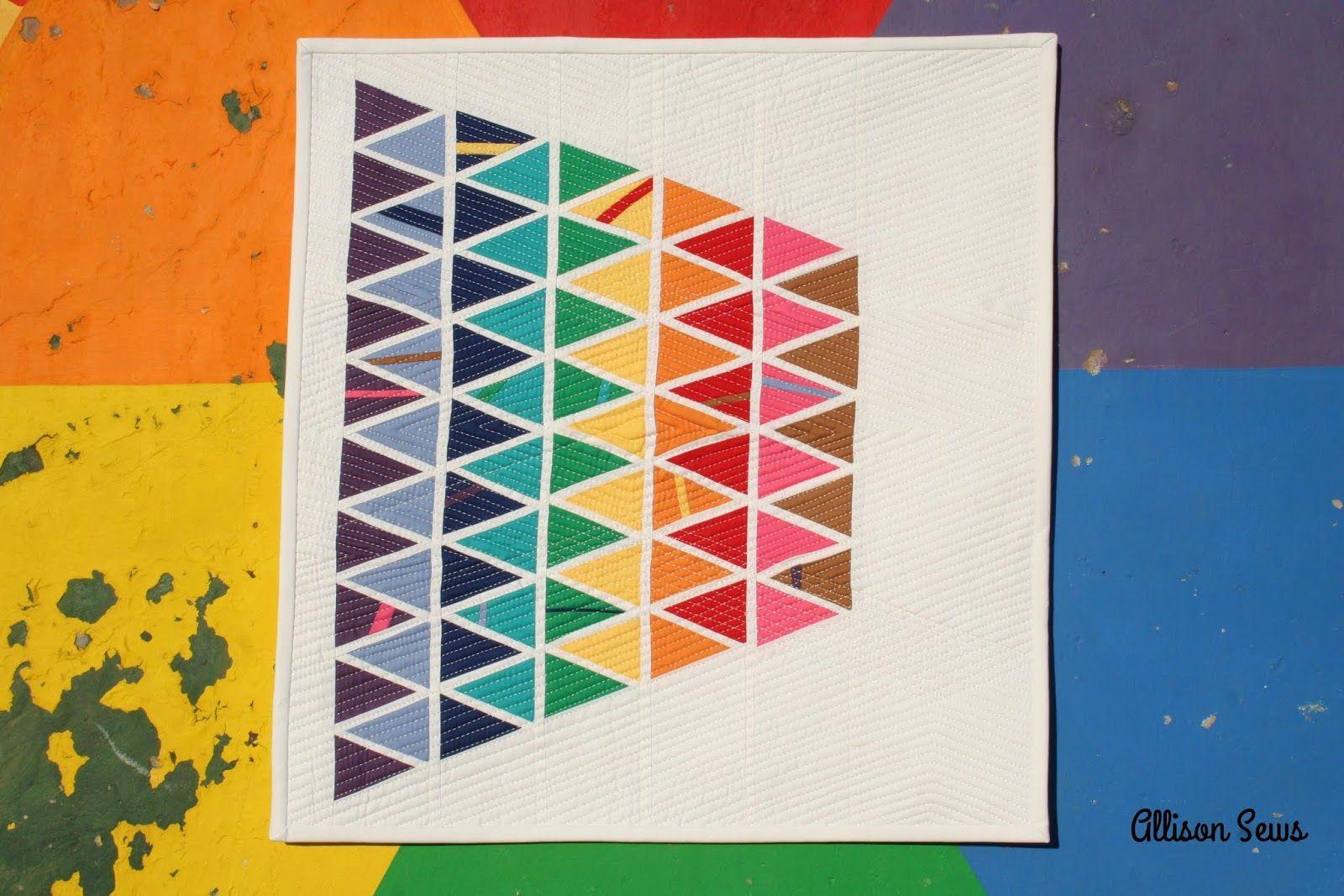 Allison Sews: Quilt-It Modern