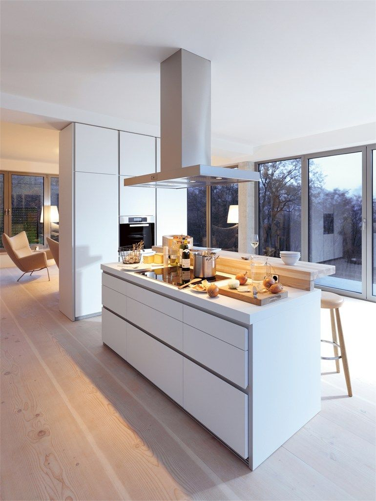 B1 Kitchen With Island By Bulthaup Minimal Design Huis