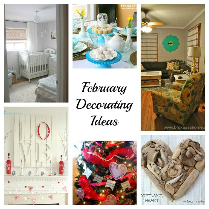 February Decorating Ideaonday Funday Link Party
