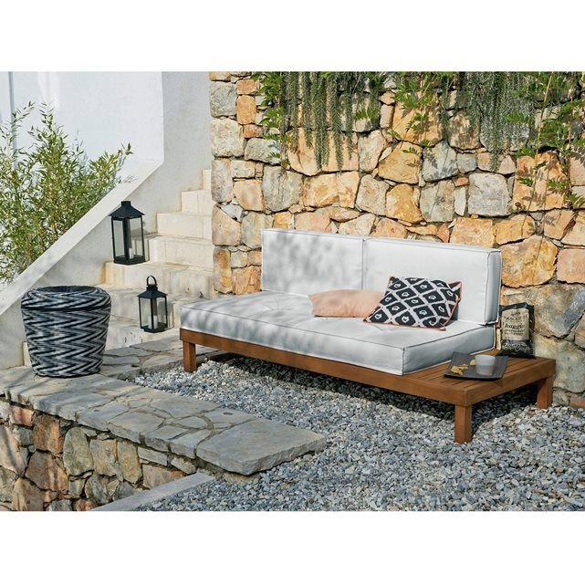 image gartenliege chann eukalyptusholz la redoute interieurs garten pinterest g rten. Black Bedroom Furniture Sets. Home Design Ideas