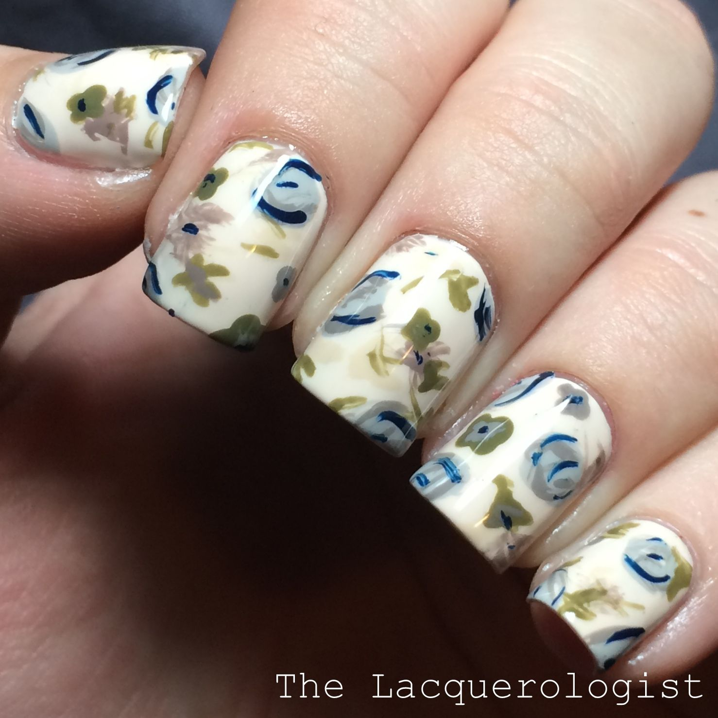 The Lacquerologist: When Your Nails Match Your Shirt...