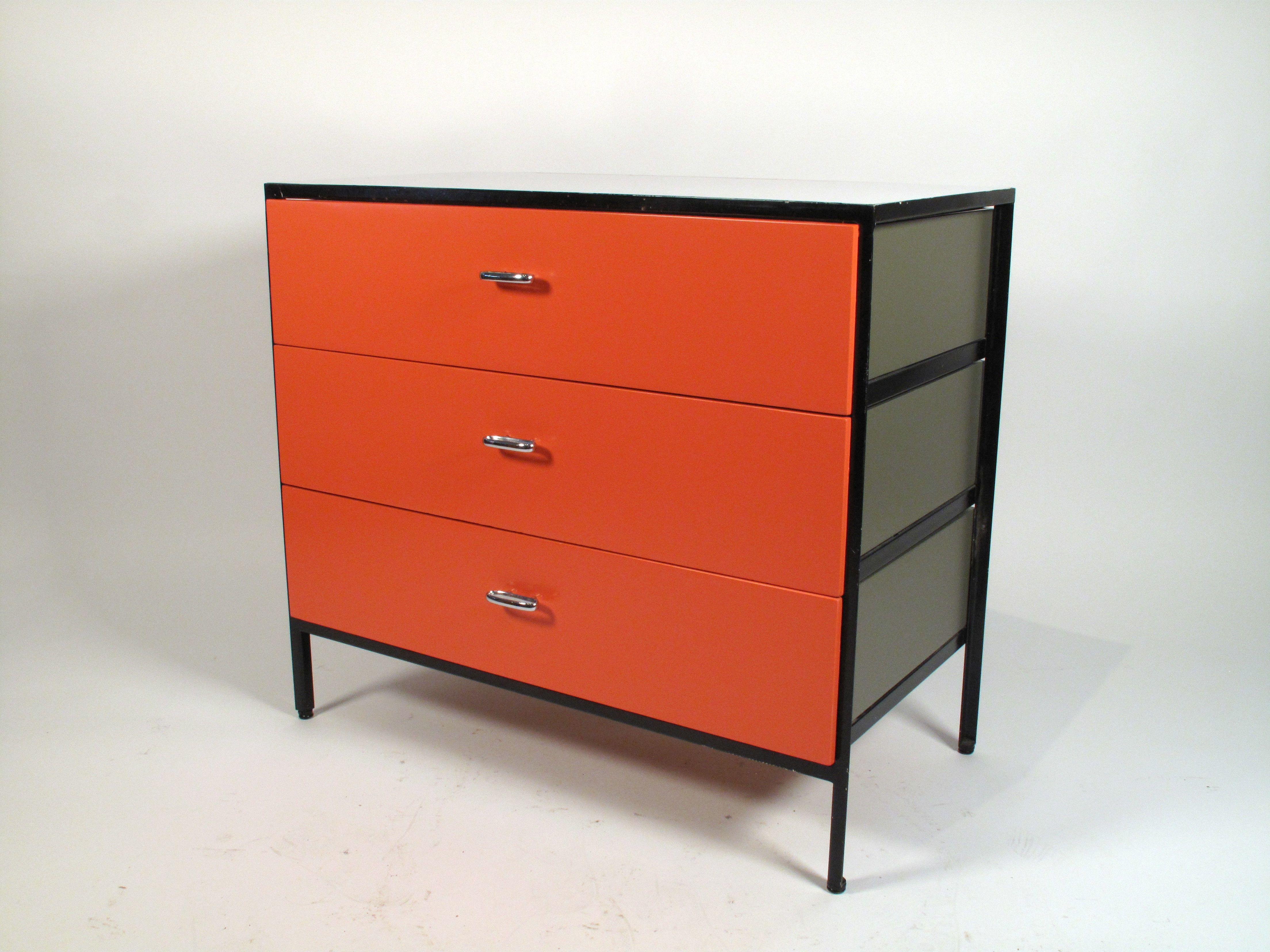 George Nelson Steel Frame Dresser 1950\'s | Storage | Pinterest
