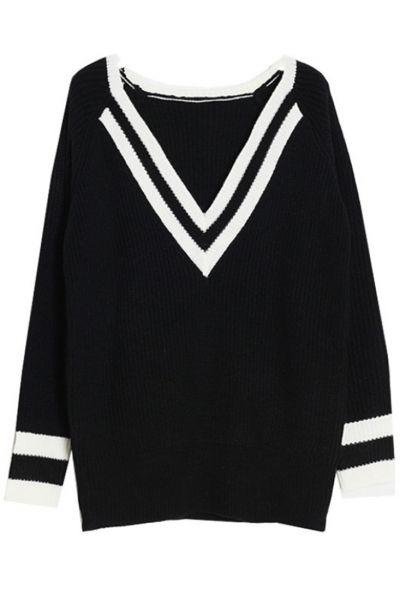 Easy V-Neck Sweater