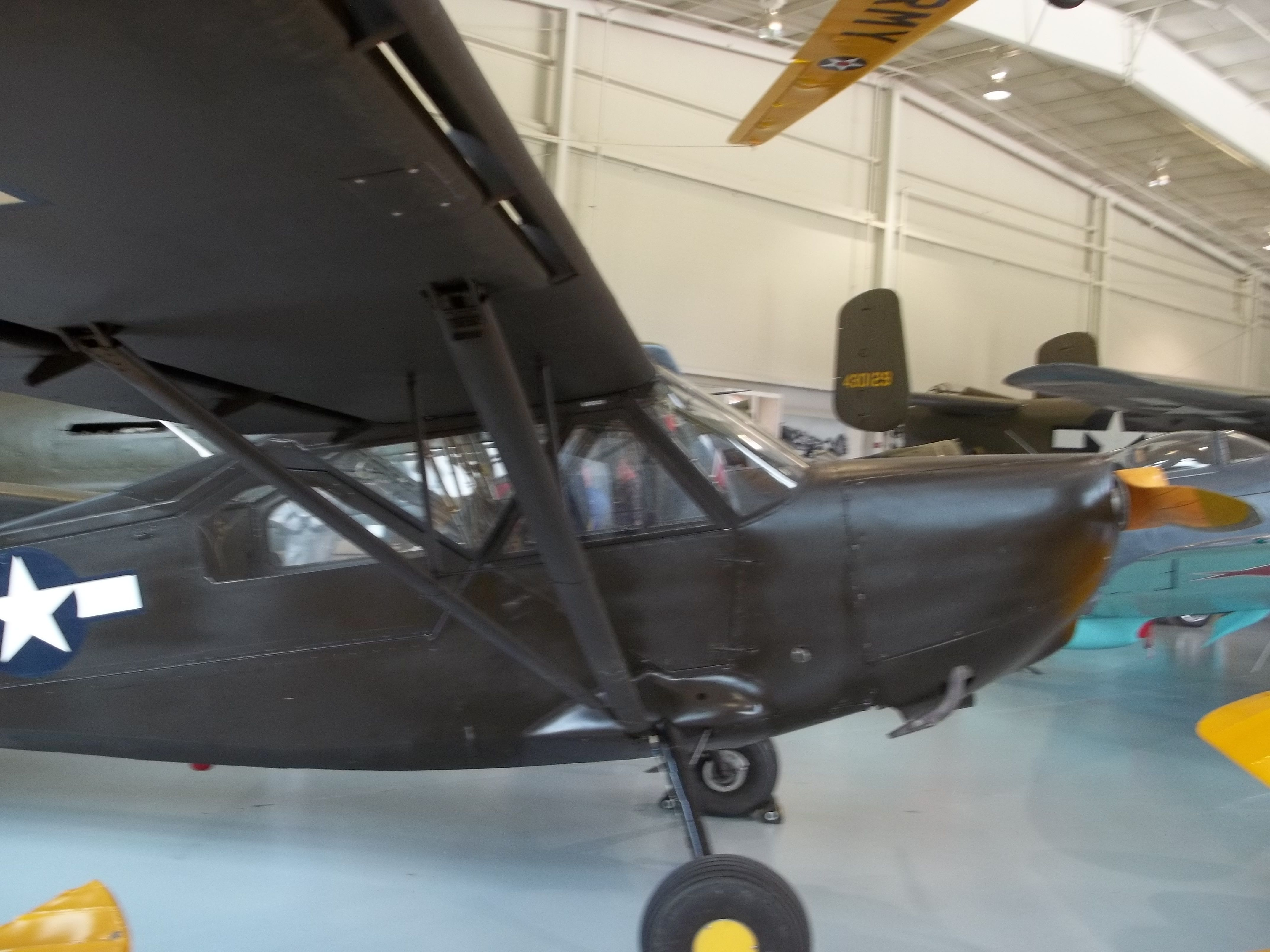 1944 Stinson L5-E Sentinel larger nicknamed 'Grasshopper' as it could get in