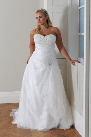 9fa4ec1aaee View Dress - CALLISTA Collection  4105 - For Brides With Curves ...