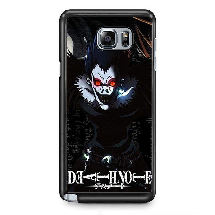 Death Note Japan Manga Samsung Phonecase For Samsung Galaxy Note 2 Note 3 Note 4 Note 5 Note Edge