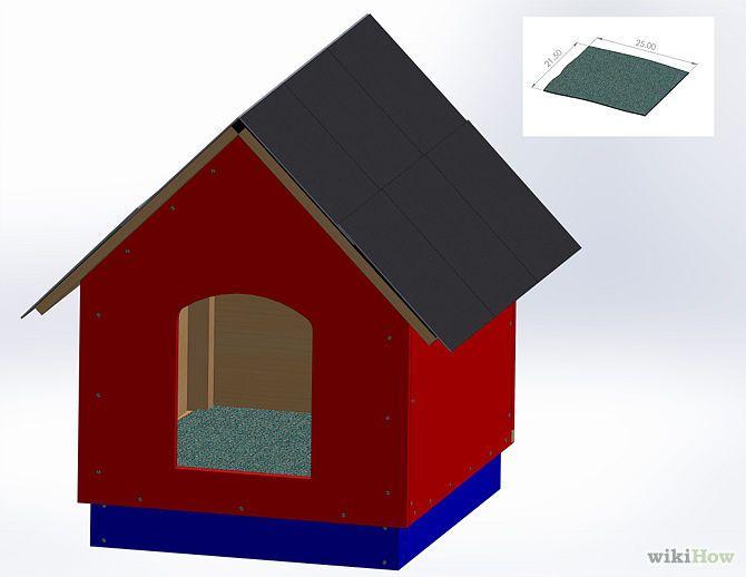 Construire une niche pour un chien animaux niches et for Etape a suivre pour construire sa maison