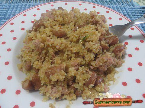 Boulgour salsiccia e fagioli - Gustose ricette di cucina