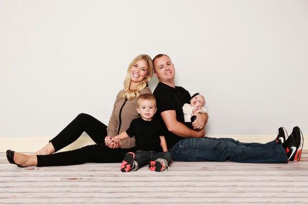 Family Photography indoor in-studio Dahmer Family, The Mullikin Studio, Mission KS, Family Photography | The Mullikin Studio