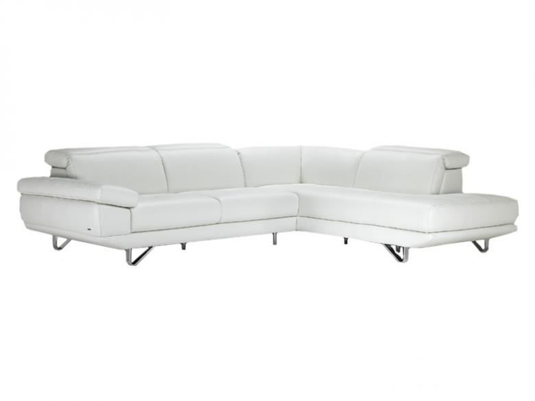 Slipcovers For Sofas The Natuzzi Editions leather sectional is made up of uni body solid wood frame with industrial strength webbing seating system and finished with Italian