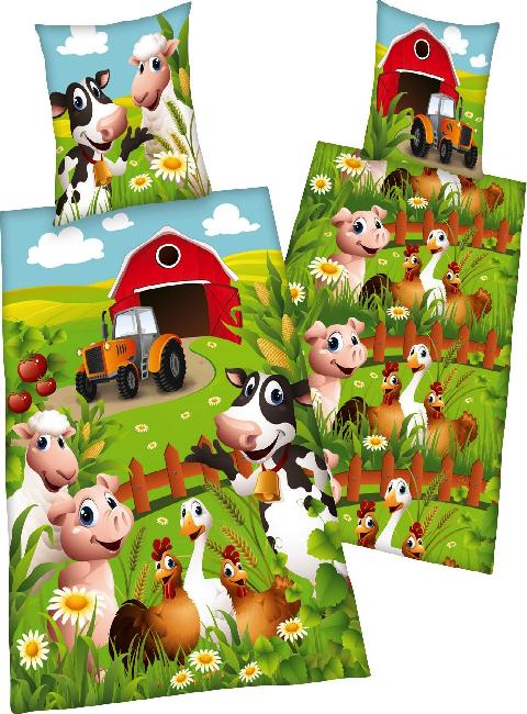 Couette tracteur parure housse de couette tracteur animaux de la ferme animaux ferme - Housse de couette le petit prince ...