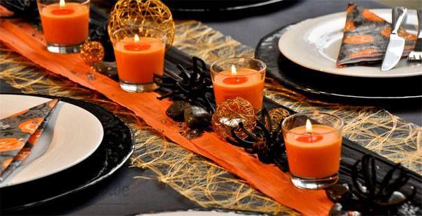 Deko pinterest - Tischdeko halloween ...