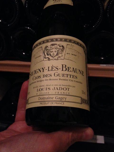 Savigny Lès Beaunes 1er Cru - Le Grand Colbert