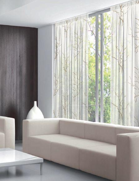 Novedades en dise o de cortinas 2017 hoy lowcost for Cortinas modernas salon