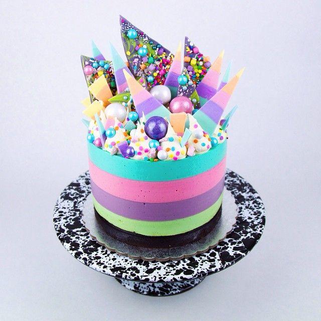 Rainbow Layer Cake Recipe Australia