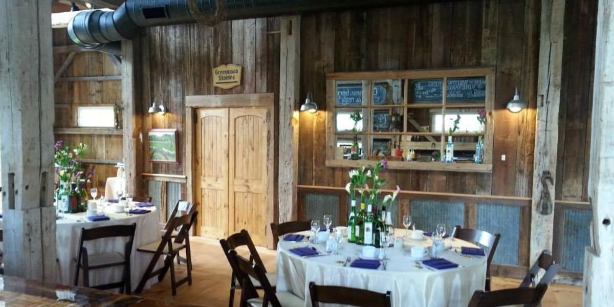 Willow Spring Vineyards Weddings  Price Out And Compare Wedding Unique Willow Dining Room Menu Review