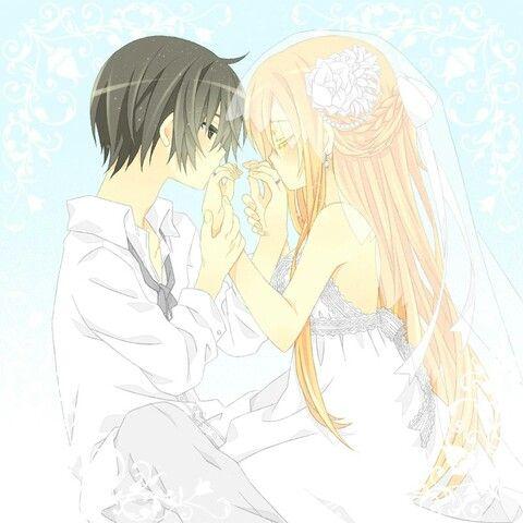 Kirito And Asuna Wedding