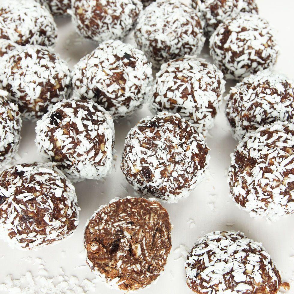 Sockerfria chokladbollar dadlar