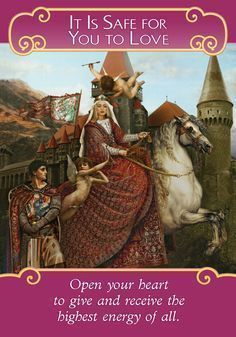 Oracle Card Is It Safe For You To Love With Images Angel Cards