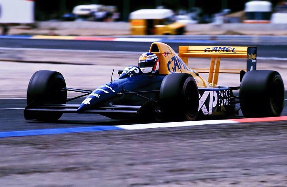 Jean Alesi TyrrellFord 018 1989 French GP, Le