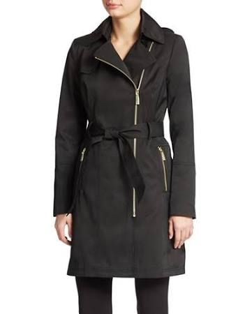 Vince Camuto Belted Trench Coat Women's