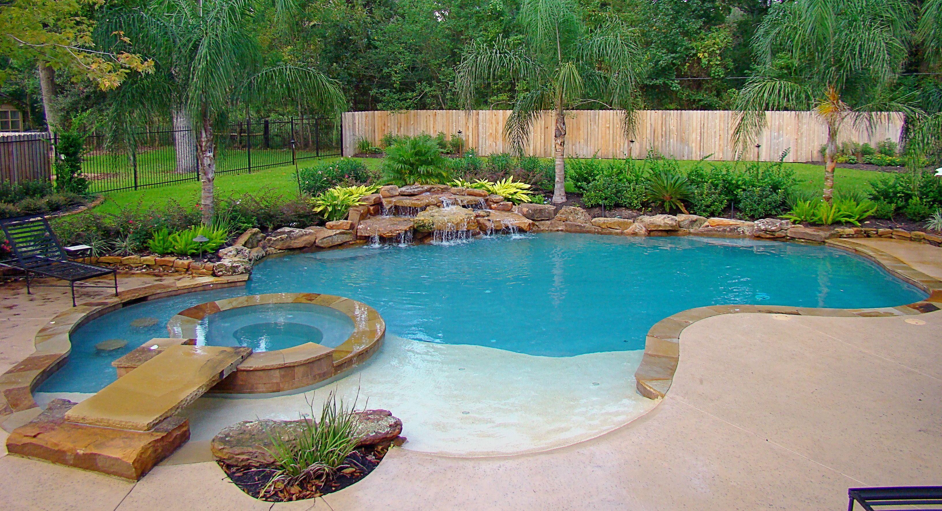 Home Signature Pools Texas Backyard Pool Outdoor Pool Table Pool Patio