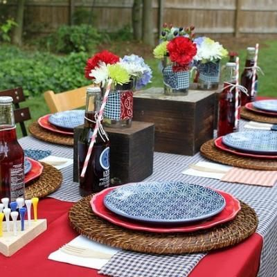 8 free july 4th party printables for your celebration tischdeko grillen pinterest party. Black Bedroom Furniture Sets. Home Design Ideas