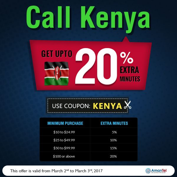 kenya calling card buy online kenya international calling card and get upto 20 extra - International Calling Cards Online