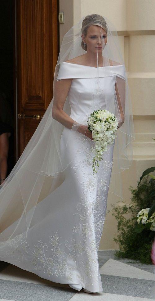albert-princess-charlene-royal-wedding-   Gracie   Pinterest ...