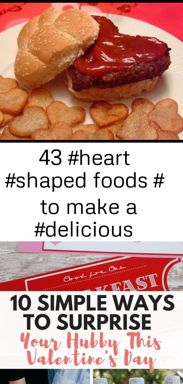 43  foods to make a  meal  for valentines day   43  Foods to Make a  Meal  for Valentines Day   10 Simple Ways To Surprise Your Hubby This Valentines Day Boyfriend Gift H...