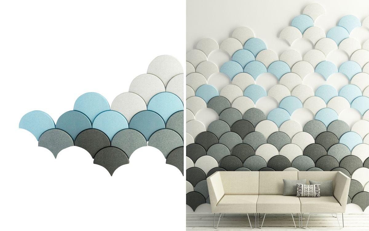 panneaux d 39 isolation phonique ginkgo acoustic panel bl station 2013 stone designs materiaux. Black Bedroom Furniture Sets. Home Design Ideas