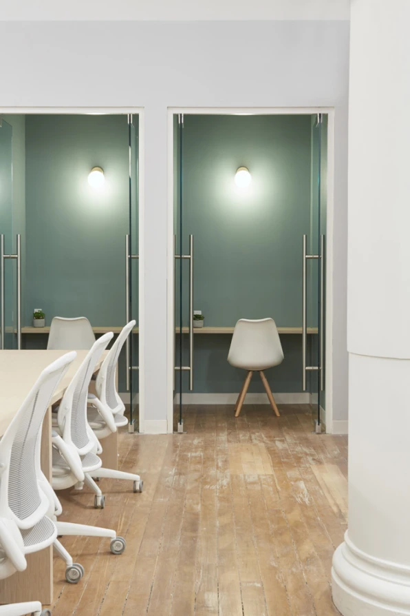 Doctor's offices are terrifying. This one is designed to calm your nerves