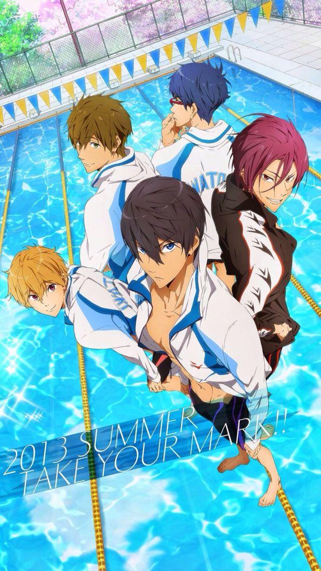 Free Iwatobi Swim Club Free Anime Free Iwatobi Swim Club