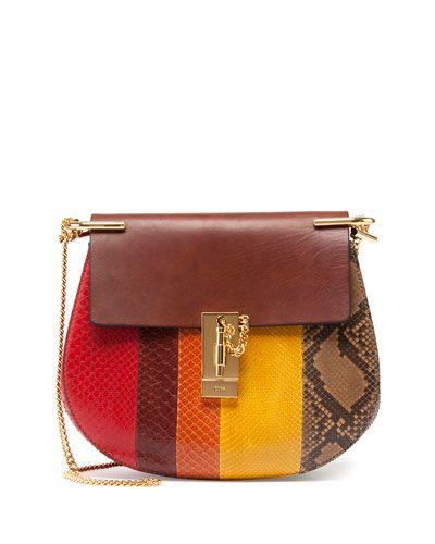 fa01b0fb627 Drew Small Python Shoulder Bag
