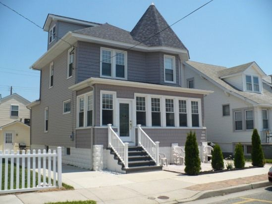 Tremendous Wildwood Nj Homes Delight Cute Beachy Sleeps 10 Home Remodeling Inspirations Genioncuboardxyz