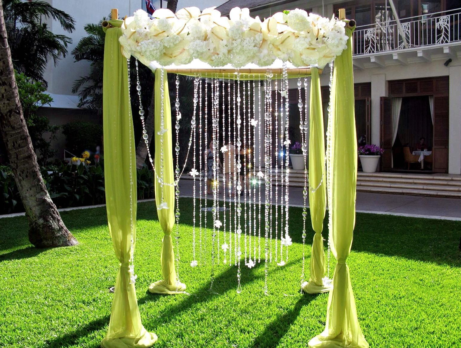 Wedding lawn decoration ideas  free images of archways for weddings  Arches For Weddings