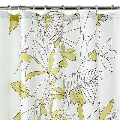 Terrace Leaf Shower Curtain Sale 23 99 Fabric Shower Curtains