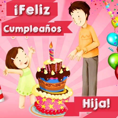 Tarjetas De Felicitaciones De Cumpleaños Para Una Hija