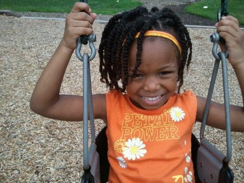 Natural Hair Styles for Kids - Twists with Headband | Kids Natural ...